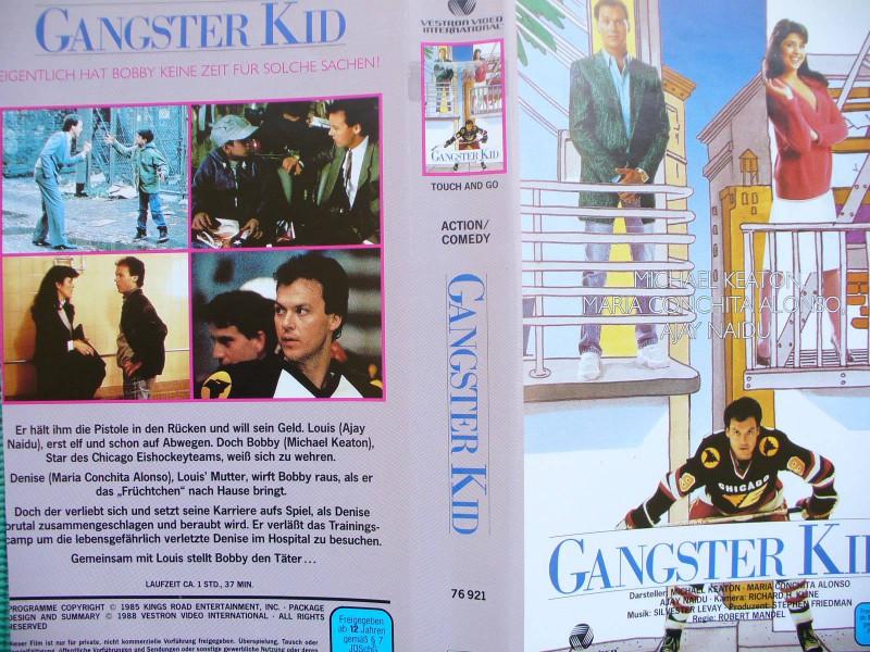 Gangster Kid ... Michael Keaton, Maria Conchita Alonso