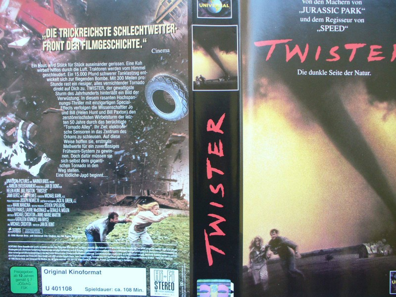 Twister  ...  Helen Hunt, Bill Paxton