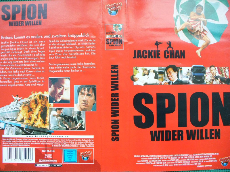 Spion wider Willen  ...  Jackie Chan