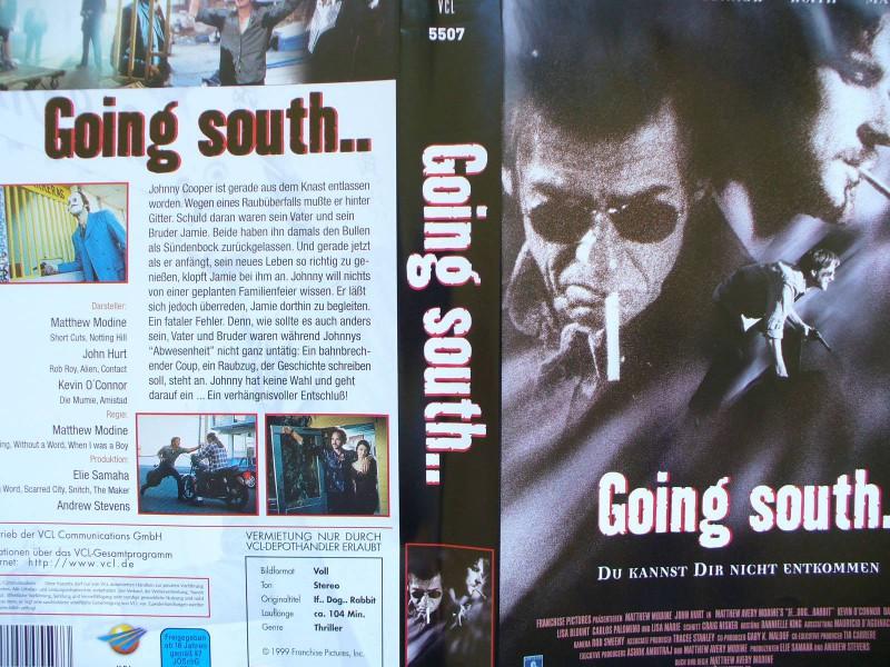 Going South ...  Matthew Modine, John Hurt, Kevin O´Connor