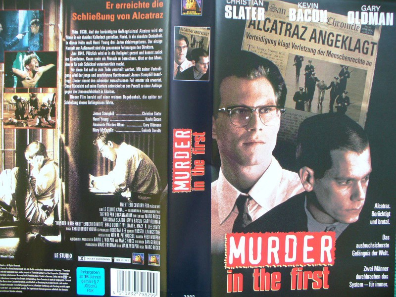 Murder in the First ...  Christian Slater, Kevin Bacon