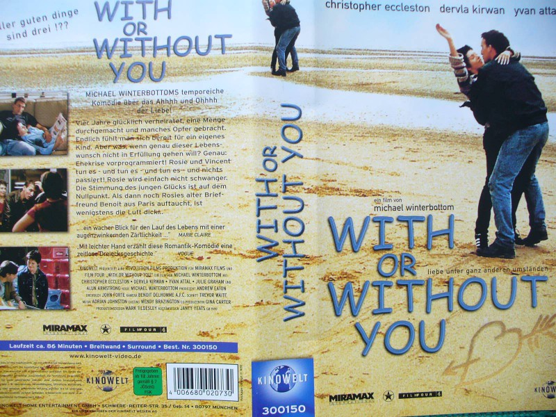 With or Without You ...  Christopher Eccleston