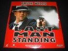 Last Man Standing LD Laserdisc Widescreen Edition