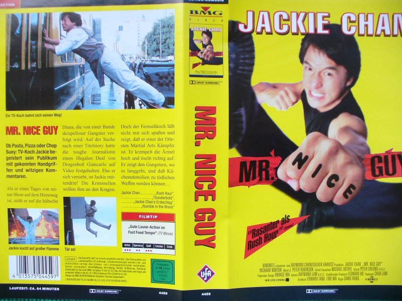 Mr. Nice Guy  ...  Jackie Chan