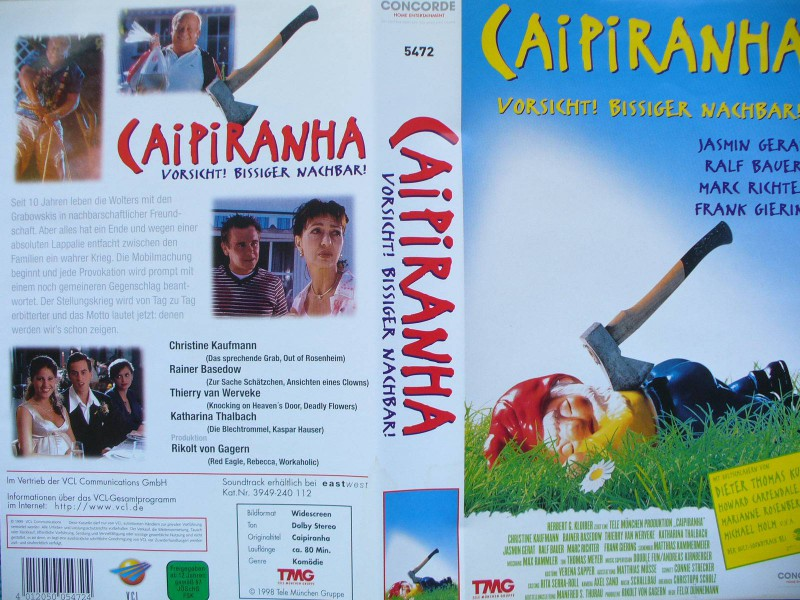 Caipiranha ... Rainer Basedow, Christine Kaufmann