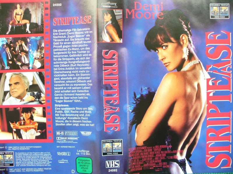 Striptease ...  Demi Moore, Burt Reynolds, Armand Assante