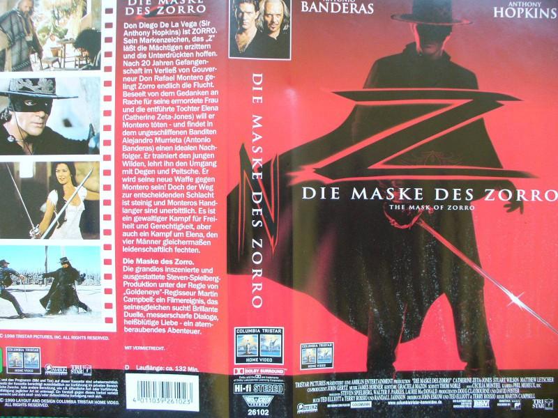 Die Maske des Zorro ...  Antonio Banderas, Anthony Hopkins