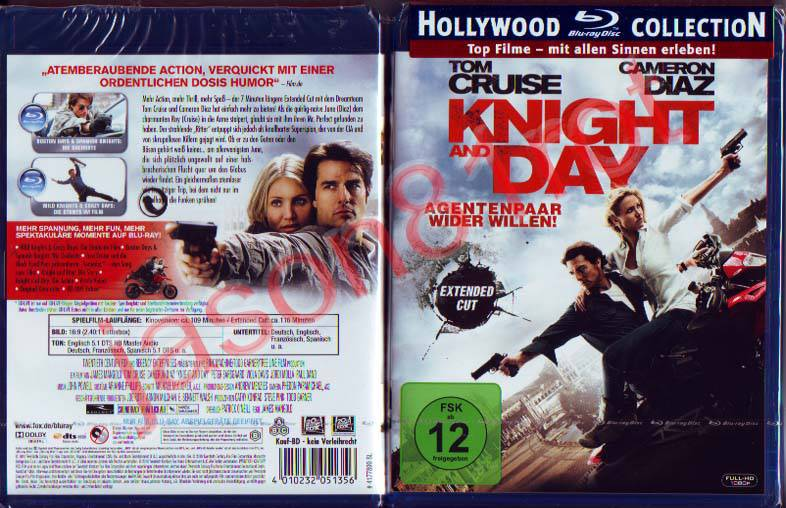Knight and Day - Hollywood Collection / Blu Ray / NEU OVP