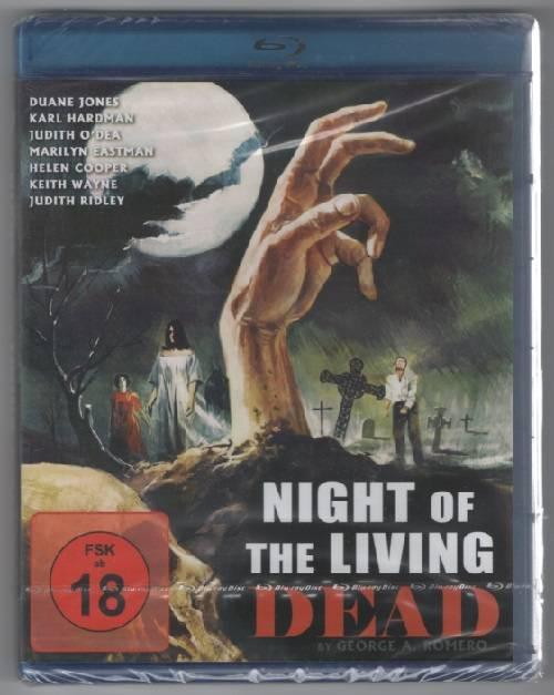 NIGHT OF THE LIVING DEAD (Blu-ray) NEU/OVP