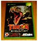 XBOX TUROK EVOLUTION - ENGL. - UNCUT - 18er - KOMPLETT