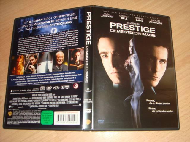 Dvd Prestige Die Meister Der Magie Versandkostenfrei Kaufen Filmundo