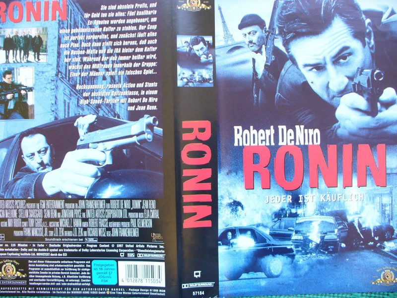 Ronin  ...  Robert De Niro, Jean Reno