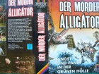 Der Mörder Alligator ...  Van Johnson ...  Horror - VHS !!!