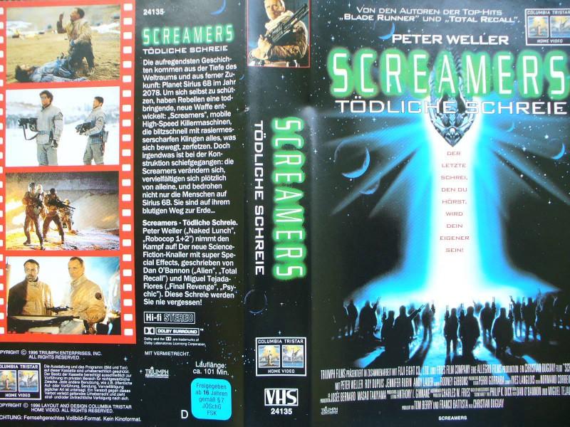 Screamers - Tödliche Schreie ...Peter Weller,Jennifer Rubin