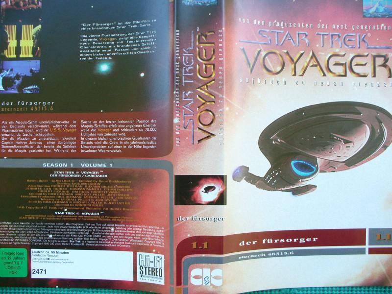 Star Trek Voyager ...   Der Fürsorger ...   VHS