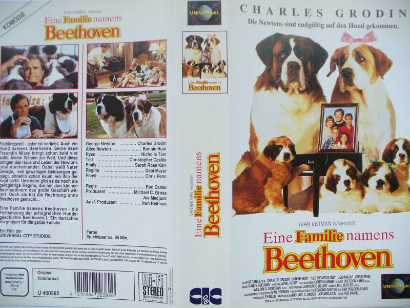 Eine Familie namens Beethoven ... Charles Grodin, Chris Penn