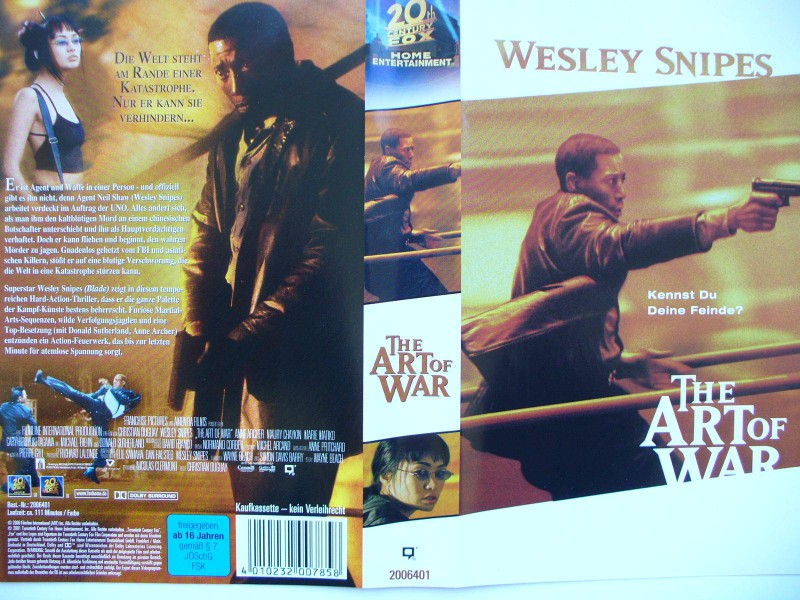 The Art of War ...  Wesley Snipes, Donald Sutherland