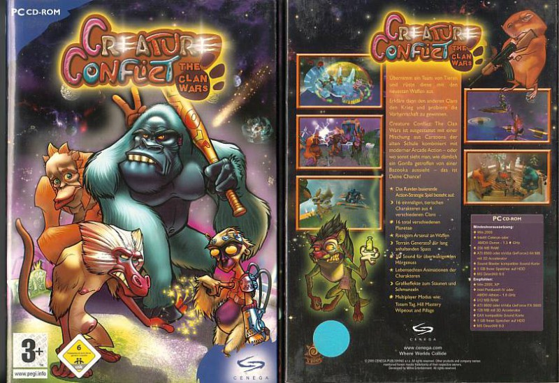 PC Creature Conflict - The Clan Wars - NEU - OVP -