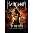 *** MANOWAR - FIRE AND BLOOD *** 2 DVD COLLECTION