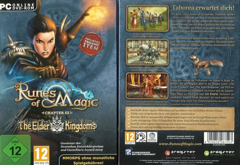 PC Runes of Magic 03 - The Elder Kingdoms (9908, NEU)