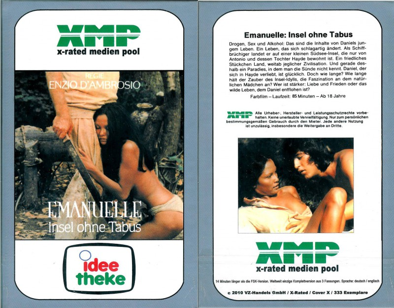 Emanuelle - Insel ohne Tabus - X-Rated Nr. 6-60  - NEU