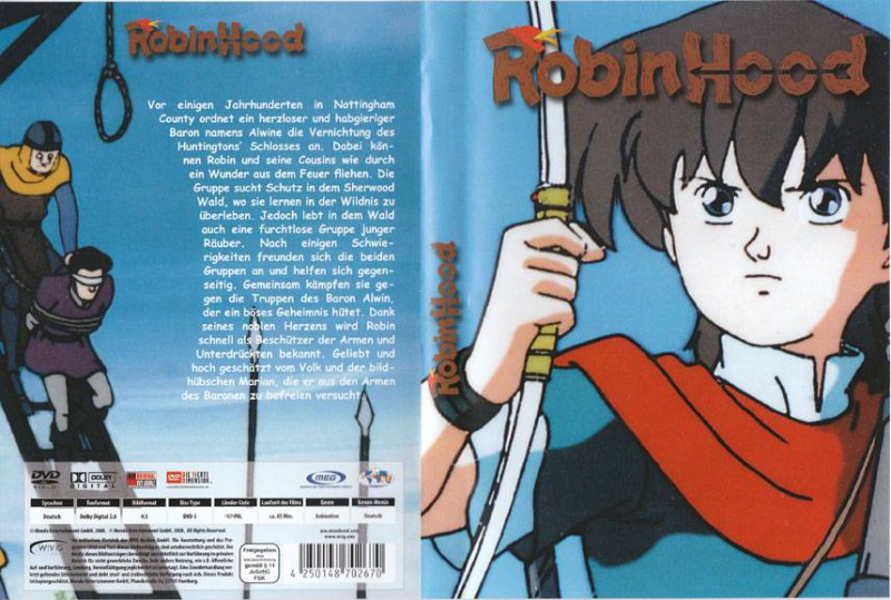 ROBIN HOOD Anime Film