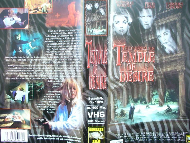 Temple of Desire ... Monique Parent  ...  Horror - VHS !!!