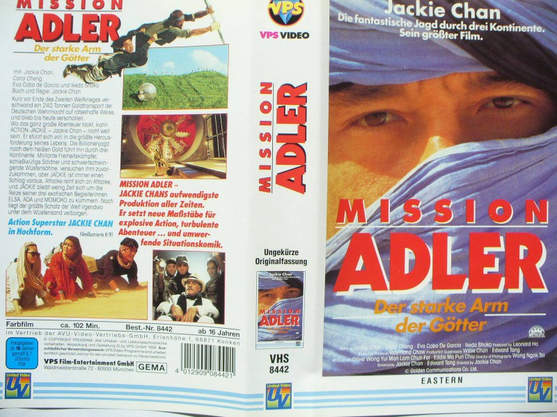 Mission Adler ...  Jackie Chan, Carol Cheng