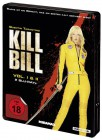 Kill Bill - Volume 1+2 - Steelbook [Blu-ray] (uncut) NEU+OVP
