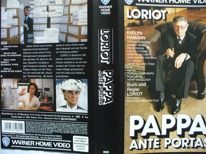 Pappa Ante Portas ...  Loriot, Evelyn Hamann