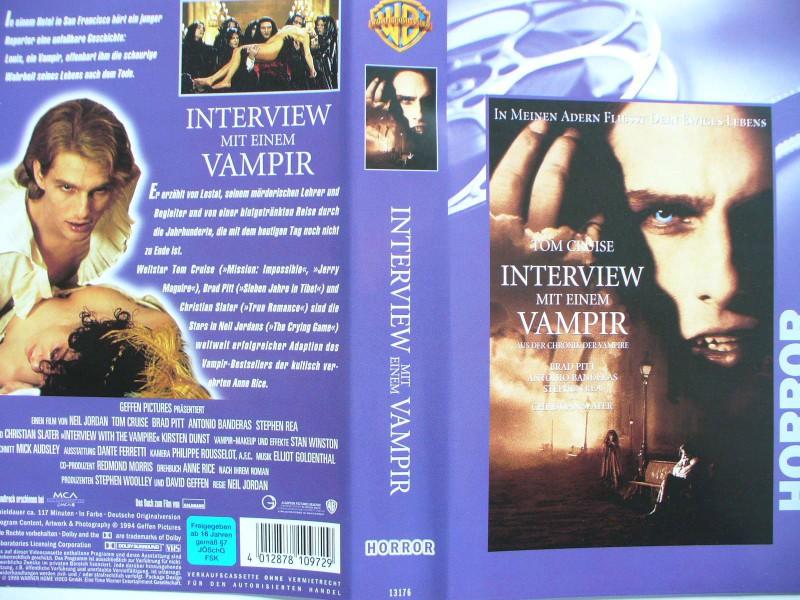 Interview mit einem Vampir ...  Tom Cruise .. Horror - Video
