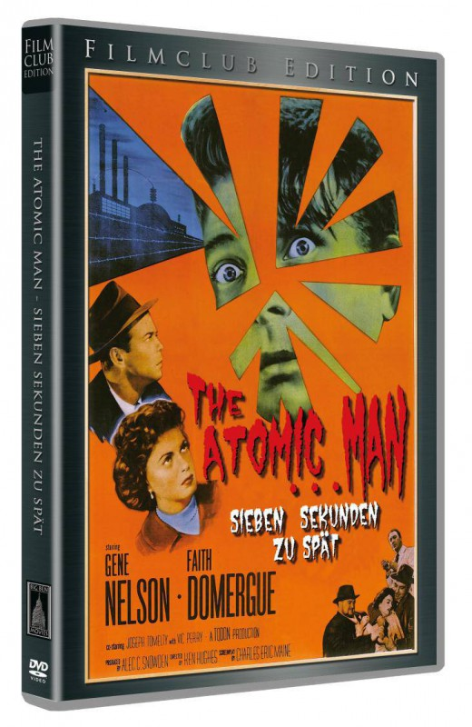 The Atomic Man - Filmclub Edition # 2 - Lim 1200 - Neu/OVP