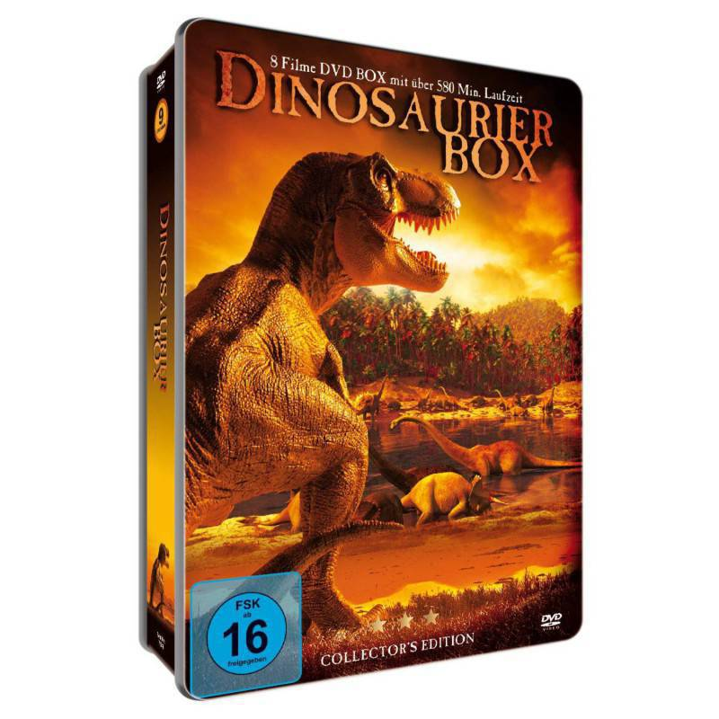 Dinosaurier Box - Collectors Edition / 8 Filme Tin Box OVP