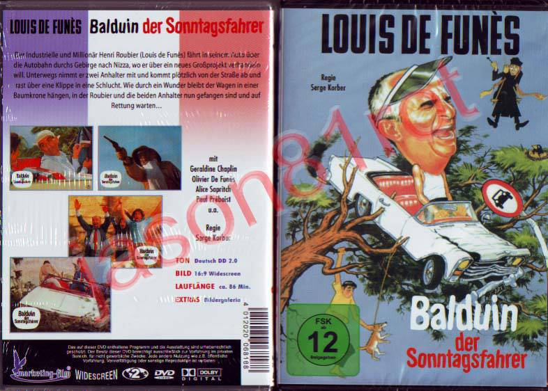 Balduin der Sonntagsfahrer / DVD NEU OVP Louis de Funes