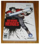 Wii - NO MORE HEROES - UNCUT - US IMPORT - KOMPLETT
