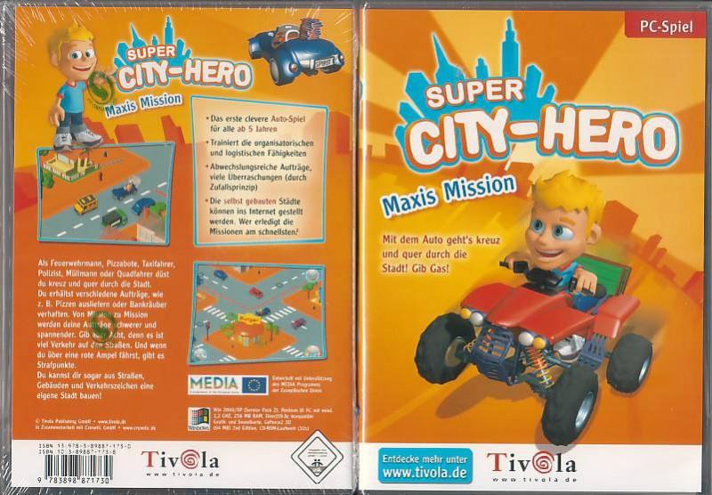 PC Super City-Hero (250521,NEU,OVP)
