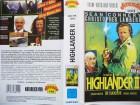 Highlander II - Die Rückkehr ... Christopher Lambert  .. VHS