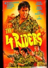 The 4 Riders - Shaw Brothres  VHS
