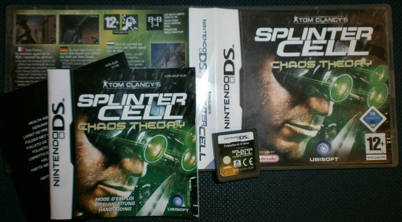 NDS - Splinter Cell - Chaos Theory - Nintendo DS - TOP