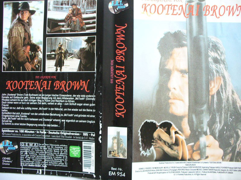 Die Legende von Kootenai Brown ... Tom Burlinson