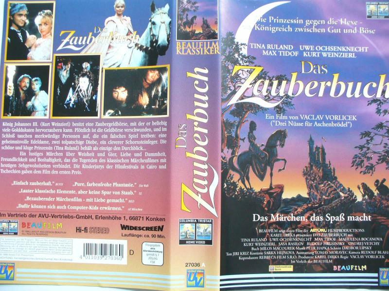Das Zauberbuch ... Tina Ruland, Uwe Ochsenknecht .. Märchen!