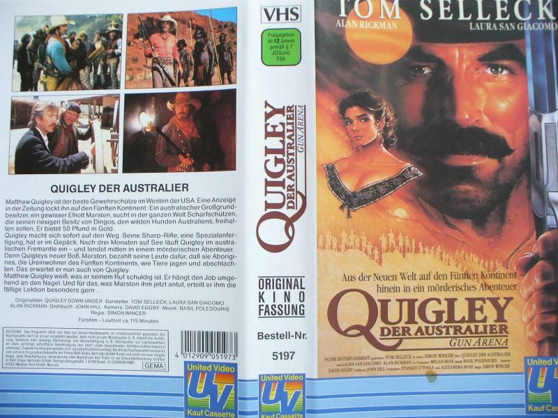 Quigley der Australier ...  Tom Selleck, Alan Rickman