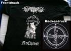 ✖T-Shirt (UKR) Nokturnal Mortum - NeChrist (Burzum)