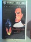 Arlarmstufe Rot VHS Steven Seagal Uncut