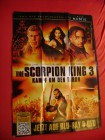 The Skorpion King 3 Poster NEU