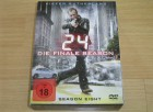 24 - Die komplette Season/Staffel 8 mit 6 DVDs, Box, Uncut