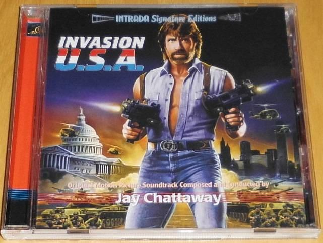Invasion U.S.A. OST Soundtrack-CD
