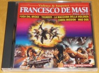 VIOLENCE & SUSPENCE - FRANCESCO DE MASI FILM MUSIC  CD