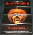 JOHN CARPENTER`S HALLOWEEN II  A1 ORIGINAL KINOPLAKAT