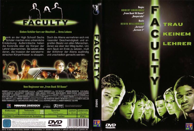 Faculty / DVD / Uncut / Josh Hartnett, Salma Hayek, Usher